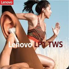 Hot Discount #6a02c - <b>Lenovo LP1</b> Bluetooth Earphone Wireless ...