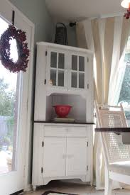 Corner Kitchen Hutch White 17 Best Images About Kitchen Hutch On Pinterest Shabby Chic