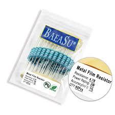 BAEASU <b>60PCS 2W</b> 4.7R <b>1</b>% <b>Metal</b> Film Resistor anajakgroup.com.kh