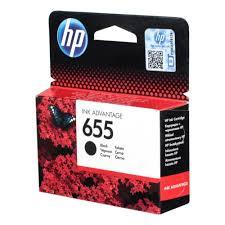 <b>Картридж HP</b> CZ109AE № <b>655</b>, черный для Deskjet Ink Advantage ...