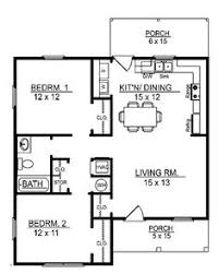 Bedroom House plans Square Feet   square feet     Floor Plans AFLFPW   Story Cottage Home   Bedrooms  Bathroom and