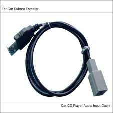 online get cheap subaru radio wiring aliexpress com alibaba group original plugs to usb adapter conector for subaru forester car cd radio audio media cable data wire