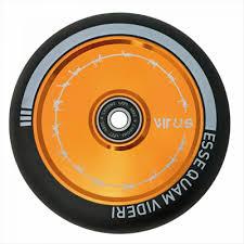 Купить <b>Колесо Tech Team Hollow</b> 110mm Virus оранжевое в ...