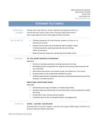 cover letter veterinary resume examples veterinary technician cover letter vet tech resume samplestips and templates online builders vet resumeveterinary resume examples extra medium