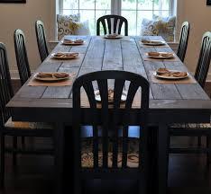 Farm Dining Room Table Table Farmhouse Dining Room Tables Style Large Farmhouse Dining