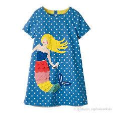 Flamingo Embroidered Princess <b>Dress 2019</b> Designer Kids <b>Clothes</b> for