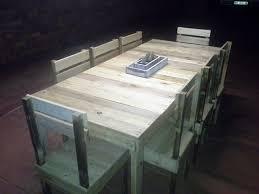 diy repurposed pallet dining furniture set amazing diy pallet furniture