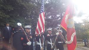 veterans day observance folger park photo essay capitol hill the presentation of colors by the united states marine corps color guard