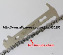 <b>1pc Bicycle chain</b> wear indicator 7 10 speed chains bicycle tools ...