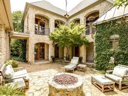 Spanish style  Courtyards and Spanish on PinterestHouse  Spanish Style Courtyard Home Plans  Transforming Courtyard Home Plan into Gardens