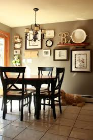 dining room wall decorating ideas:  dining room gallery wall but change new trends dining room wall decor ideas kitchen pictures
