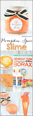 images about halloween make your own pumpkin spice slime this fall season all you need is school glue borax food coloring and pumpkin pie spice to make this fun and festive