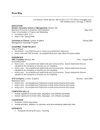 jobresumeweb  finance student resume example sample