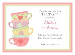 template for high tea invitation com afternoon tea invitation template