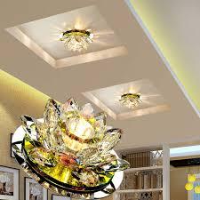 2018 <b>Laimaik</b> Crystal <b>Led Ceiling Light</b> 3w Ac90 260v Modern <b>Led</b> ...