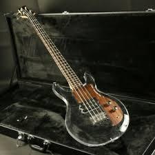 4 Strings Dan <b>Electric</b> Bass <b>Guitar Acrylic</b> Body <b>Crystal Rosewood</b> ...