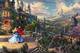 Ceaco <b>Thomas Kinkade</b> The Disney Collection Sleeping <b>Beauty</b>