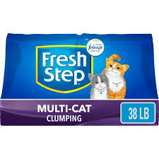<b>Fresh Step</b> Multi-<b>Cat</b> Scented Litter with the Power of Febreze ...