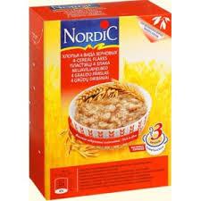 Каши быстрого приготовления Nutrtion <b>Nordic хлопья 4</b> вида ...