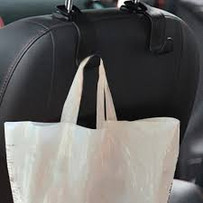 Black <b>Universal Car Seat Back</b> Hooks Hanger Auto Organizer Purse ...