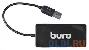 Концентратор USB 2.0 <b>Buro BU</b>-<b>HUB4</b>-<b>U2</b>.<b>0</b>-<b>SLIM</b> — купить по ...