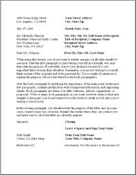 formal business letter format businessprocess business letter format