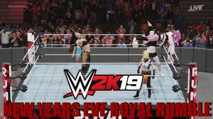 WWE2K19 <b>New</b> Years <b>eve Royal</b> rumble - YouTube