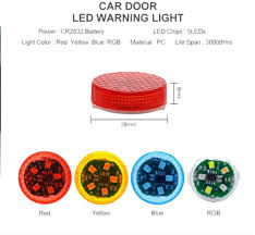 Universal <b>Wireless Car Opening</b> Door Singal Lights LED Safety ...
