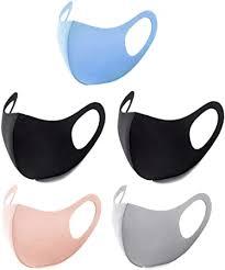 5 Pcs <b>Fashion</b> Unisex <b>Outdoor Sports</b> Summer Washable Cloth Face