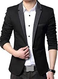 Blacks - Suits & Blazers / Men: Clothing & Accessories - Amazon.in