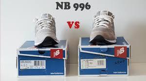 <b>New Balance 996</b> /оригинал vs подделка/ - YouTube