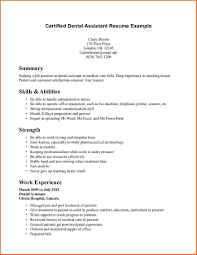 dental assistant cover letter for resume event planning template dental assistant resume example certified dental assistant resume