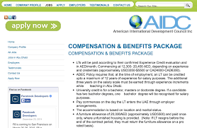 compensation benefits package for lts dubai compensation benefits for lts