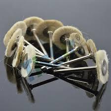 Miniature <b>dental laboratory</b> extra soft white goat hair polishing ...