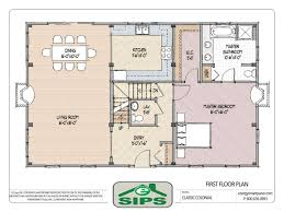 Old Colonial Floor Plans Open Floor Plan Colonial Homes  modern