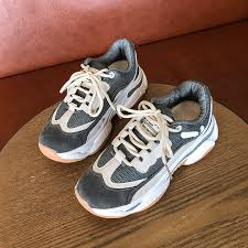 <b>YeddaMavis Running Shoes</b> Gray Daddy Shoes Women Shoes ...