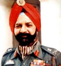 Lt General Ranjit Singh Dayal. He was selected to serve with the UN emergency force in Gaza to supervise the withdrawal of Israeli forces. - 090604035534_Dayal1