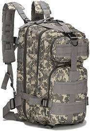 Military Tactical Backpack Small Rucksacks Hiking ... - Amazon.com