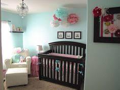 nursery colors aqua pink with brown furniture baby girl nursery furniture