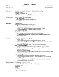 after college resume sample resume 2017 after