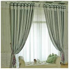 grey striped jacquard chenille room darkening living room curtain chic living room curtain