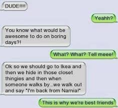 Funny text - Were best friends | Funny Dirty Adult Jokes, Memes ... via Relatably.com