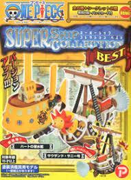 One Piece Super Ship Collection Best <b>10 pieces</b> (<b>PVC</b> Figure ...