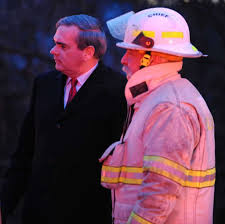 spectacular explosion levels house times union from left schenectady or gary mccarthy and fire chief michael dellarocco watch as firefighters battle