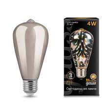 <b>Лампа Gauss</b> LED 3D-Butterfly E27 4W - Gauss ...