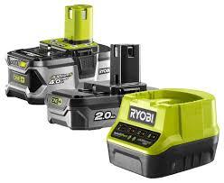 Набор аккумулятор и <b>зарядное устройство Ryobi RC18120</b>-242 ...
