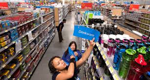 tacoma walmart workers busy stocking shelves opening set for 2 2013 3 50 pm