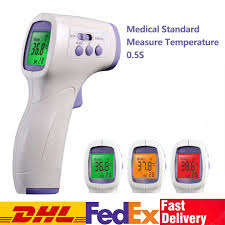 <b>DHL TNT Non-contact Ear</b> Forehead Thermometer for Baby Adult IR ...