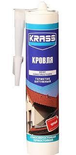 <b>Герметик битумный</b> KRASS (КРАСС) для крыш и кровли Чёрный ...