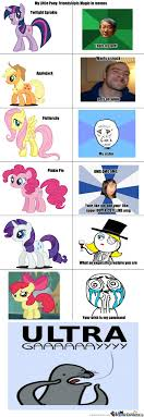 RMX] My Little Pony In Memes by Roland - Meme Center via Relatably.com